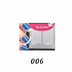 Наклейка French Nail Tip Guides 006
